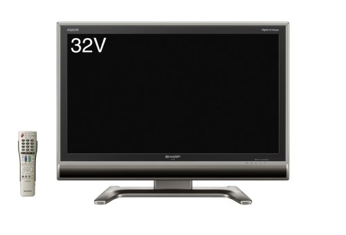 シャープ 32V型 液晶 テレビ AQUOS LC-32GH3 ハイビジョン   2007年モデル B000TA38SC