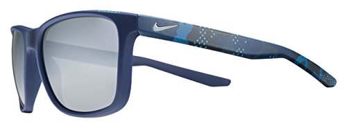 Nike Sonnenbrille (UNREST EV0922 SE) MT NAVY/CAMO W/GRY SIL FL LENS