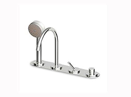 Miscelatore Vasca Da Bagno : Miscelatore vasca da bagno zucchetti isystick miscelatore bordo