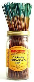 Carmen Miranda's Hat - 100 Wildberry Incense Sticks