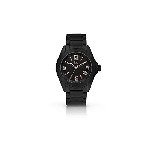 Guess Collection GC Men's Sport Class XL Black Ceramic Band/Case Watch - X85003G2S ()