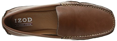 Izod Mens Burney Mocassino Slip-on Tan 221