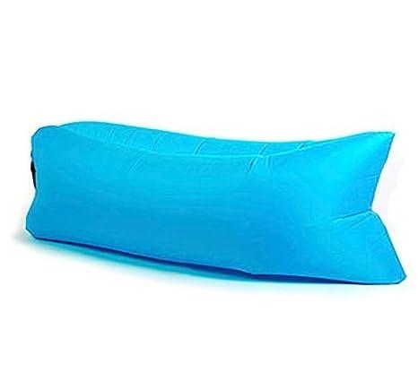 Sofá cama-tumbona rápido aire hinchable para playa-camping-montaña ...
