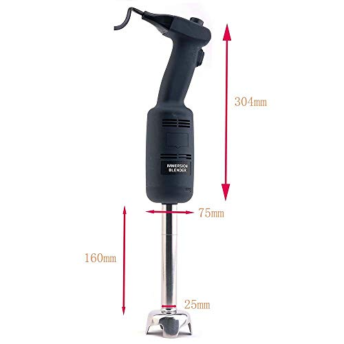 Zz Pro Commercial Electric Big Stix Immersion Blender Hand held variable speed Mixer 220 Watt power with 6-Inch Removable Shaft, 6-Gallon capacity(MW220S6) by ZzPro (Image #4)