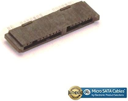 Micro SATA 16 Pin PCB Mount Data and Power Female Connector