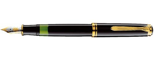 Pelikan Souveran 800 Black GT Fine Point Fountain Pen - ()