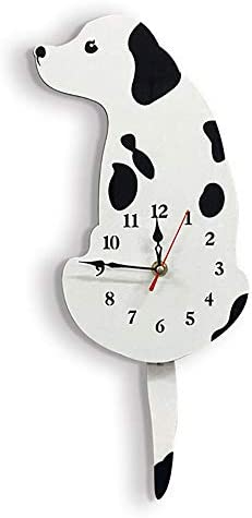 Acrylique Créatif Dessin Animé Chat Horloge Murale Montre Façon Queue déplacer Cute Home Decor AA