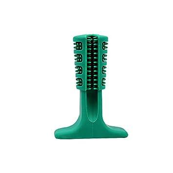 VANUODA Cepillo de Dientes en Perro Jugar - Dog Brushing Stick - Limpieza de higiene Dental