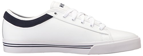 K-swiss Mens Bridgeport Ii Fashion Sneaker Bianco / Blu Scuro