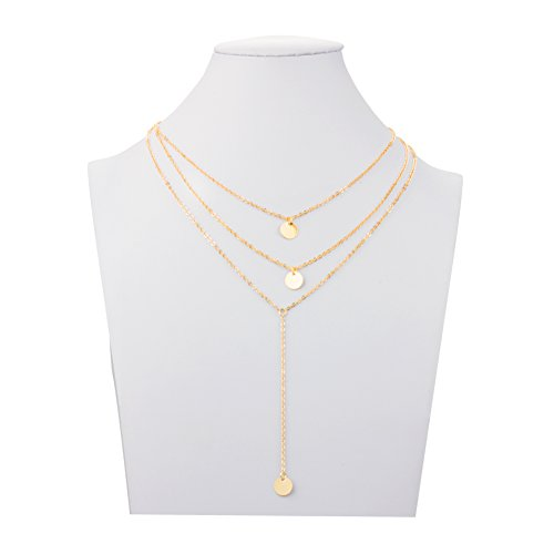 Boosic Bohemian Jewelry Multilayer Necklace