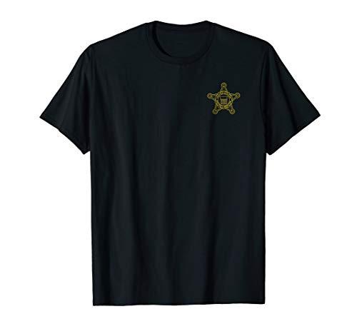 U.S. Secret Service Shirt Front & Back Print