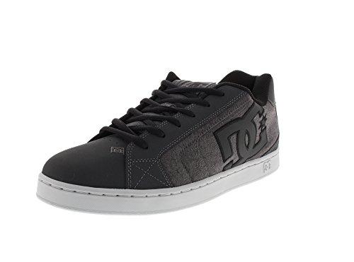 Net Se Resin Low Grey Men's Shoes DC Rinse Sneakers Top p7UqRR