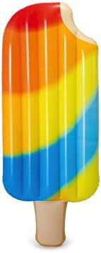 Intex - Colchoneta hinchable forma helado, 178 x 77 cm (58755)