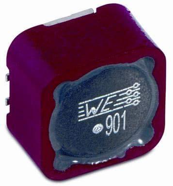 Ferrite Beads WE-PF Power Ferrite 100MHz 340ohm 10A , Pack of 10 (742792903)