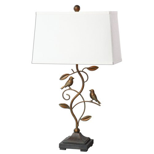 Uttermost 27038 1 Leta Table Antiqued product image