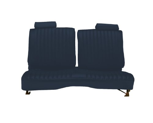 Acme U2001-4489 Front Navy Blue Vinyl Bench Seat Upholstery
