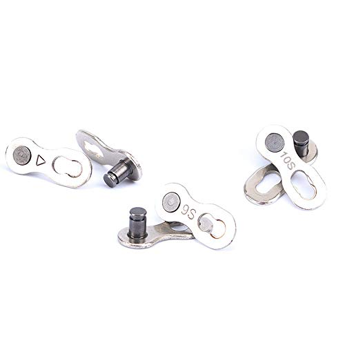 (SMOXX 1Pair Portable Bicycle Chain Master Link Joint Connector Quick Clip New (6/7/8 - Speed))