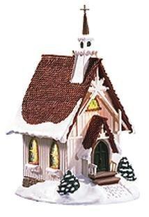 Church Keepsake - Hallmark Colonial Church Candlelight Services 1999 Keepsake Ornament