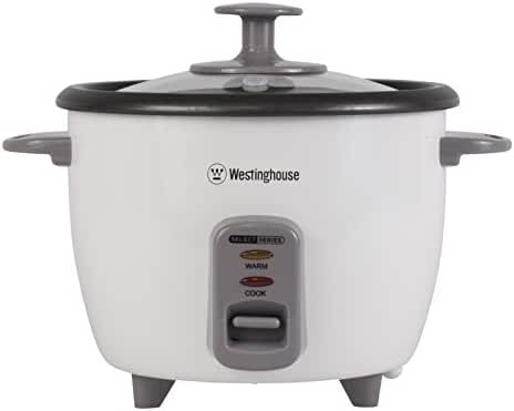 Westinghouse WRC10WA Select Series 10 Cup (Cooked), 5 Cup (Uncooked) Rice Cooker, White