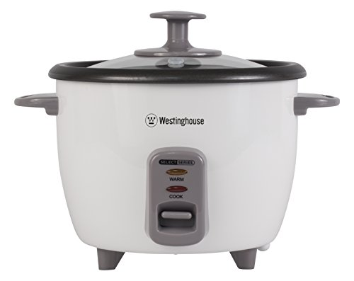 Westinghouse WRC10WA Select Series 10 Cup (Cooked), 5 Cup (Uncooked) Rice Cooker / Food Steamer, White – Amazon Exclusive