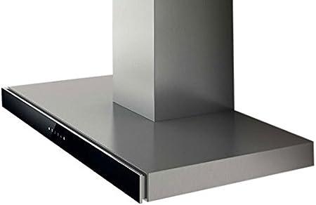 Elica JOY BLIX/A/60 - Campana (Canalizado, 500 m³/h, 46 Db, Montado en pared, Halógeno, Negro, Acero inoxidable): Amazon.es: Grandes electrodomésticos
