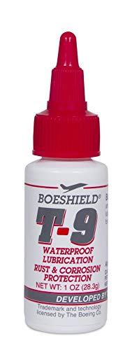 BOESHIELD T-9 Rust & Corrosion Protection/Inhibitor and Waterproof Lubrication, 1 oz liquid