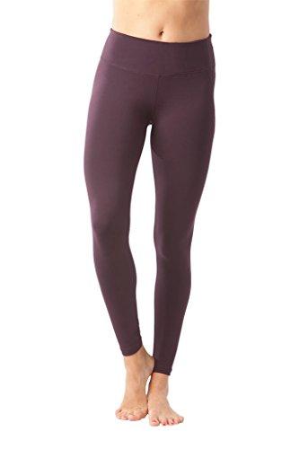 90+Degree+by+Reflex+Women%27s+Power+Flex+Yoga+Pants+-+Dark+Cherry+-+XL