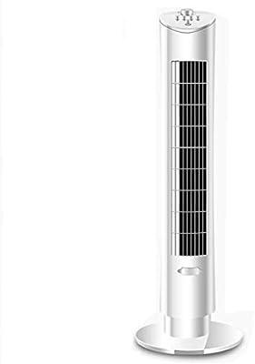 GXQL Ventiladores Ventilador portátil de Torre Ventilador mecánico Ventilador silencioso oscilante Ventilador de Aire purificado con Iones Negativos Ideal para el hogar y la Oficina, Blanco 60W: Amazon.es: Deportes y aire libre