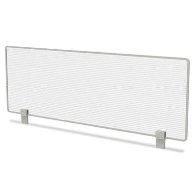 (Linea Italia TR721 Trento Line Dividing Panel, Polycarbonate, 47-1/8 x 1 3/4 x 15-1/2, Translucent )
