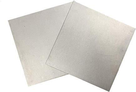 "Tungsten Sheet/Plate 6""x6""x0.012"", Unpolished"