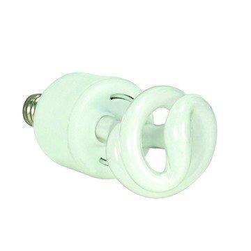(Pack of 24) Satco S7265, Satco 5W Ultra Mini Spiral E12 Candelabra Base 4100K, Compact Fluorescent Bulb