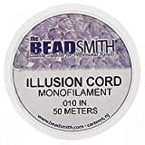 Clear Illusion Monofilament Beading Cord .01 Inch (150 Feet)