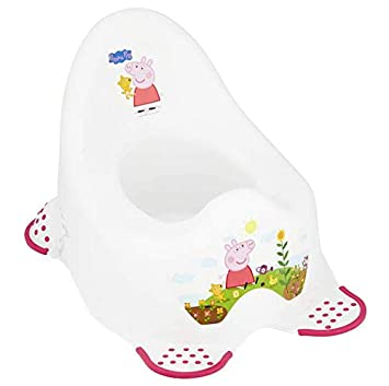 Pourty Baby Toilet Training Steady Potty Pink Easy Clean /& Empty