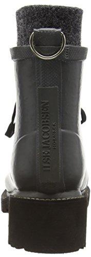 Ilse JacobsenRUB62 - botas de goma forradas y de caño bajo Mujer Gris - Grau (Grau (006))
