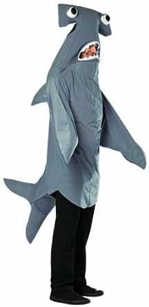 Rasta Imposta Hammerhead Shark, Grey, Standard
