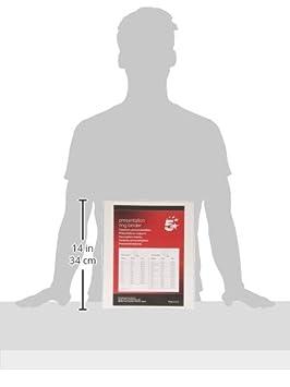 5 Star 51946WSPI - Carpeta personalizable 4-25 mm, 2 bolsillos, color blanco, 1 unidad: Amazon.es: Oficina y papelería