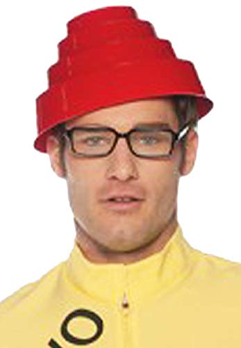 Costumes Rock Devo Whip It Adult Hat