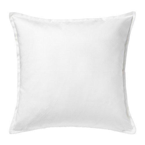 IKEA Gurli - Funda de cojín, blanco - 50x50 cm: Amazon.es: Hogar