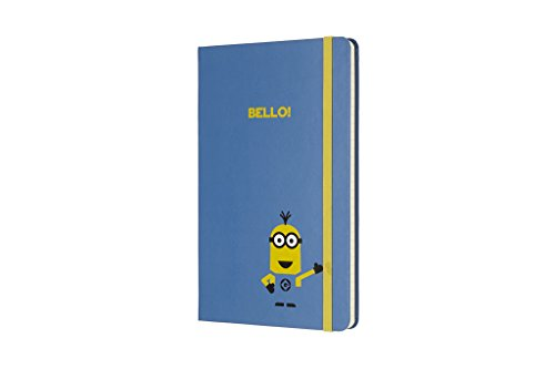Moleskine Limited Edition Minions Notebook Large Ruled B29 Blue (8055002855396)