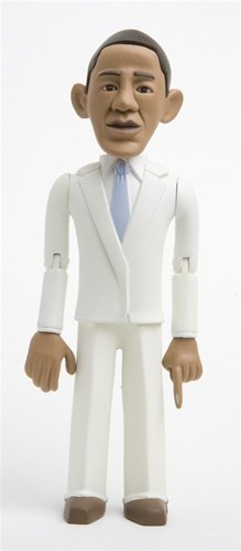 Barack Obama SDCC Exclusive 'White Suit' Variant 6-Inch Action Figure Limited to 400 (Special Order)