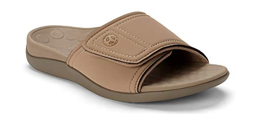 Orthaheel Men/Women Kiwi Slide In Orthopedic Sandals - Tan