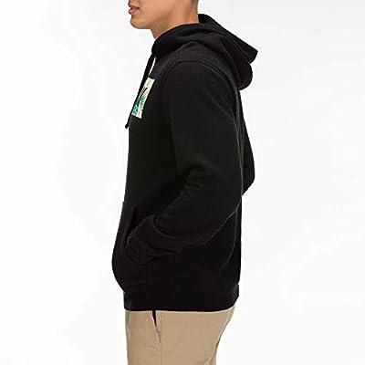 Hurley Men's Floral Box Pullover Fleece Hoodie: Clothing