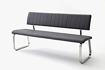 Amazon.de: Sitzbank mit Rückenlehne, Küchenbank, Sitzbank 155 cm mit ...