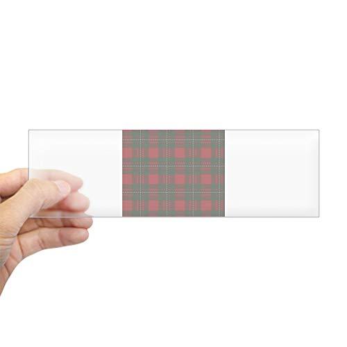 CafePress Scottish Clan Macgregor Tartan Bumper Sticker 10