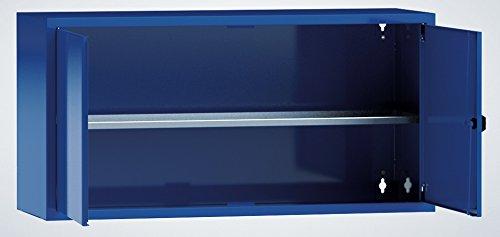 Metall-Meister Hängeschrank Materialschrank 500x1000x350 HxBxT 1 Fachboden