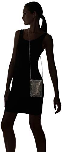 Gina Top Zip Pewter Evening Jessica Bag Mesh McClintock Z1wEt8q5