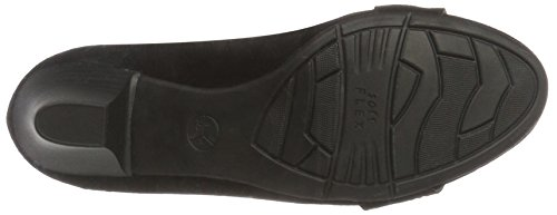 Jana 22303, Zapatos de Tacón para Mujer Negro (Black Suede 004)