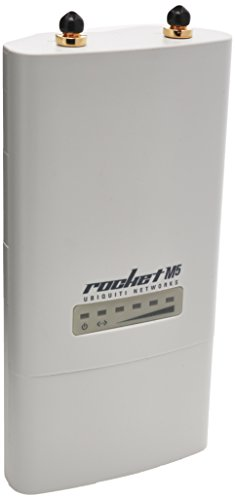 Ubiquiti ROCKETM5 5GHz Hi Power 2x2 MIMO TDMA airMAX BaseStation (ROCKETM5)
