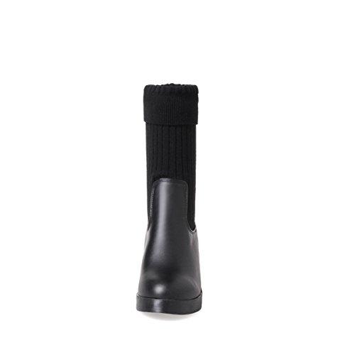 Sandales Abl09420 Femme Compensées Balamasa Noir 415 Eu 58Wnxf