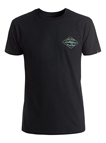 Quiksilver Men's on the Beach T-Shirt, Black, Small